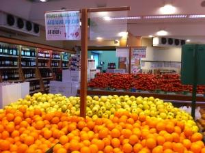Les oranges à jus que j'utilise dans mes jus frais.