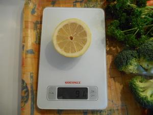 citron préparation jus vert