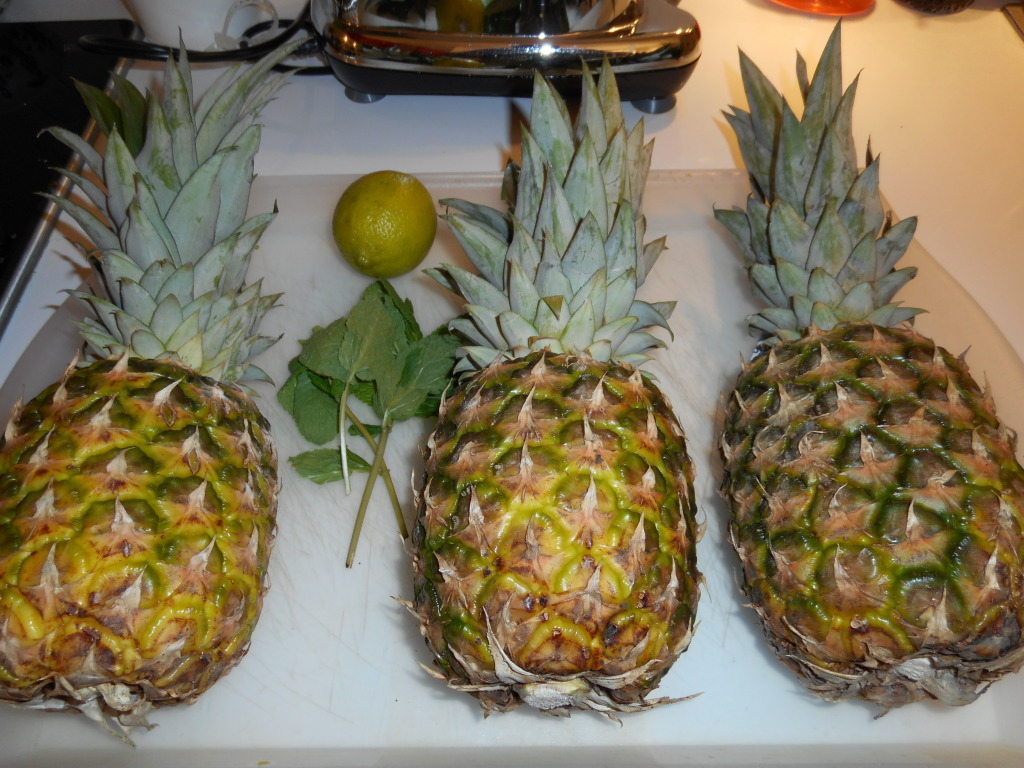 ingrédients jus d'ananas