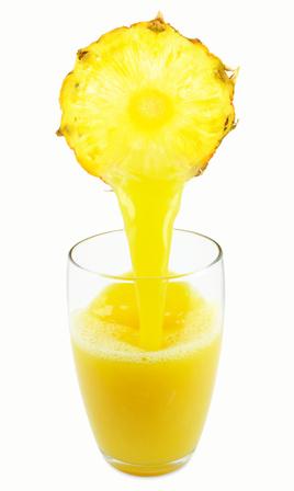 Le jus d'ananas contient de la broméline qui lui confère l'essentiel de ses bienfaits
