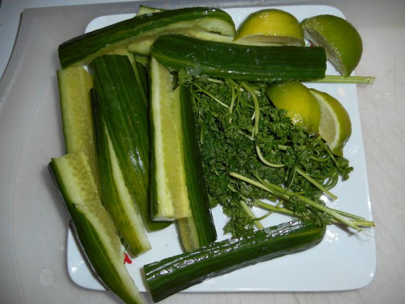 bienfaits du jus de concombre